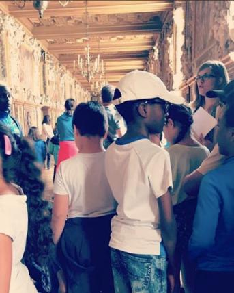 Visite scolaire du château de Fontainebleau - 2018 -
