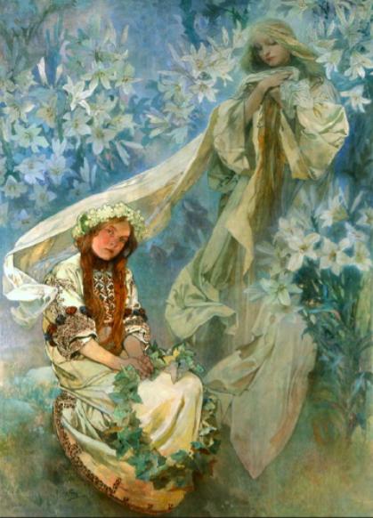 La vierge des Lys 1905.png