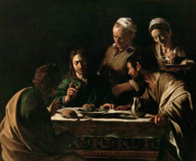 Le souper à Emmaüs