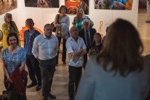 "Vernissage "" Visages d'Innocence "" - Mélina Gabler -"