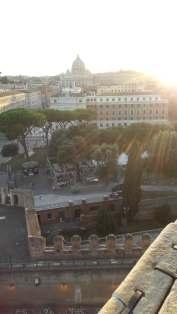 Vue d'une des terrasses du château Saint Angelo -Mélina Gabler -