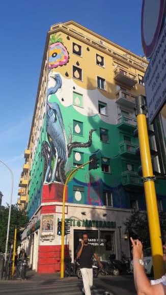 Street art métro Pyramide -Mélina Gabler -