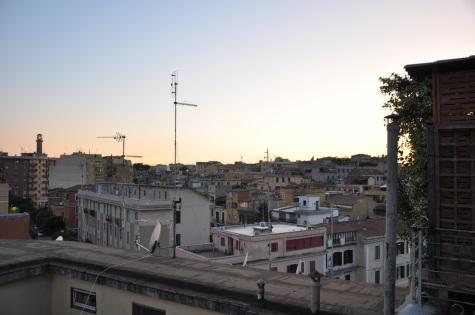 Vue de ma terrasse via Catania -Mélina Gabler -